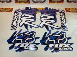 Наклейки модельные Suzuki TS200R Fox Racing ламинированные синий