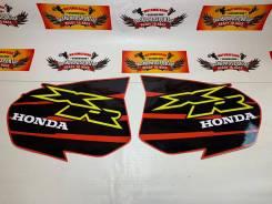 Наклейки модельные Honda XR250 XR400 ламинированные красный черный