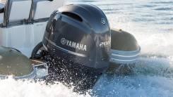 Наклейки на лодочный мотор Yamaha 200 (после 2014 г. в. )