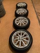 Продам комплект колес Weds Leonis на 16 с летней резиной.