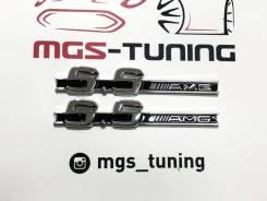 Шильдики 5.5 AMG на крылья Mercedes-Benz