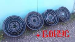 Штампованные диски со сверловкой 4Х114.3(Ниссан)
