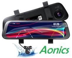 """Зеркало-видео регистратор 10"""",70 mai Dash cam Wide, 2 камеры. Русская."""