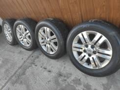 Комплект литых колес Nissan 215/60R-16 c летней резиной 2016г