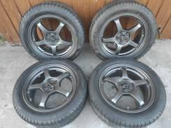 Комплект литых колес Progress 215/55R-16 c резиной Pirelli