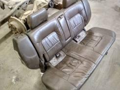 Салон коричневый паджеро 2