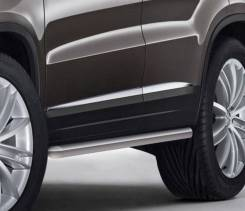 Защита порога Volkswagen Tiguan 2011-17г d57 2шт