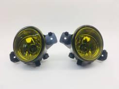 Туманка Nissan желтые комплект 2 шт Отличного качества