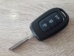 Ключ зажигания. смарт ключ Renault dacia logan sandero. 3 кнопки.