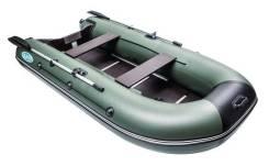 Моторная лодка RUSH 3300 СК (стационарный транец, слань, киль)