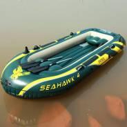 Надувная лодка Интекс SeaHawk 400-Set