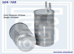 Фильтр топливный FIAT Ducato 2.3D 2011- (104-703, Starke)