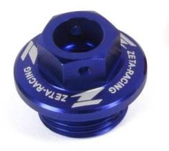 Пробка масляной заливной горловины синий цвет Zeta