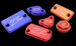 Крышка переднего тормозного бачка Zeta XR/DRZ/KLX синяя ZETA