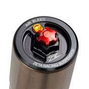 Верхняя крышка вилки Zeta для KYB MX Black