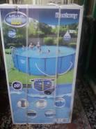 Продам каркасный бассейн 4.57м. На 1.22м