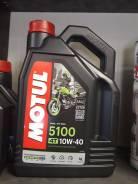 Масло Motul 5100 4Т Technosynthese® 10W40 4л
