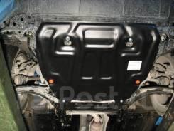 Защита картера и КПП Nissan X-Trail 31 с 2007-2014г (Сталь)