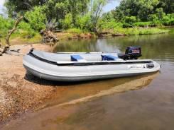 Лодка 360 + мотор Nissan Marine 18 (tohatsu)