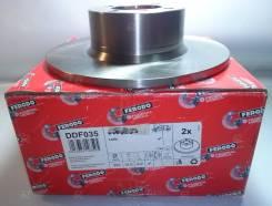 Тормозной диск передний Ferodo DDF035 Лада 2101-2107