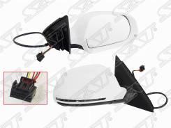 Зеркало в сборе электр AUDI Q3 11-14 рег-ка, обогрев, поворот, 6конт
