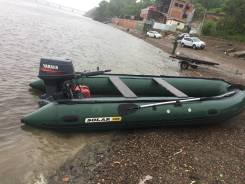 Продам лодку Solar 500 jet с мотором ямаха 40
