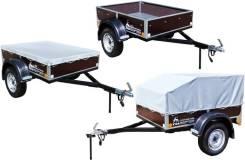 Прицеп автомобильный САЗ-82994-30 борта из влагостойкой ламинированной фанеры (под низкий или высокий тент) [САЗ-82994-30]