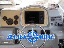 Установка картплоттеров, радаров, эхолотов Garmin, Raymarine. Ремонт
