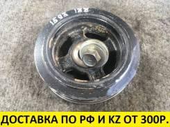Контрактный шкив коленвалаToyota 1ZZ/4ZZ/3ZZ. Оригинал. J1593