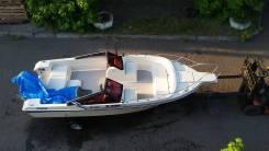 Корпус катера в идеальном состоянии