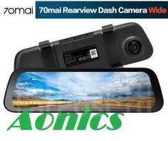"""Зеркало-видео регистратор 10"""",70 mai Rearview Dash cam Wide. Русская."""