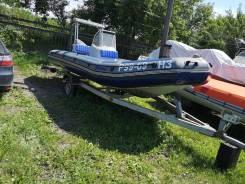 Лодка РИБ Мустанг 540 HL с мотором Yamaha-60 2-т.