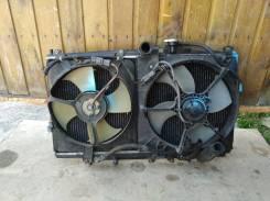 Вентилятор (диффузор) радиатора Honda Accord CF6 F23A Левый Кондицион