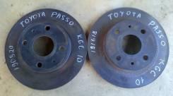 Диск тормозной передний Toyota Passo