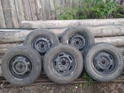 Продам колёса r13 б/у, камерные, с летней резиной.