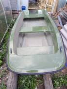 Моторно-велельная лодка
