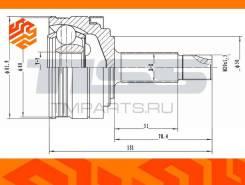 ШРУС внешний JD JCT0146