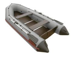 "Лодка ПВХ Leader ""Тайга-340 Киль"" (цвет серый)"