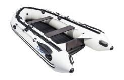 Надувная лодка ПВХ, Apache 3300 НДНД, светло-серый