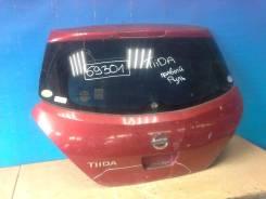 Дверь багажника со стеклом, Nissan Tiida (C11) 2007-2014 [K0100ED0ME]