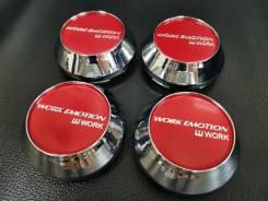 Колпачки, для дисков WORK Emotion! Красные! В наличии!