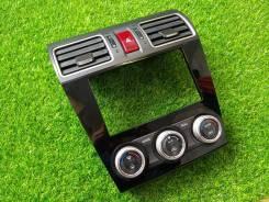 Рамка магнитолы 2DIN+климат Subaru Forester SJ XV GP (рестайлинг)
