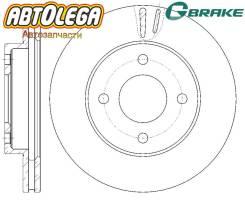 Диск тормозной пер. G-brake Nissan AD VFY11 QG13DE / QG15DE / QG18DE