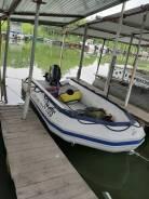Продам ПВХ лодку Quicksilver 430+Mercury 30