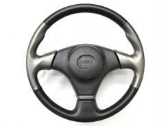 Оригинальный спортивный обод руля черная/серая кожа Toyota Altezza