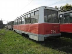Вагон трамвайный, модели 71-605, 1988 г.,