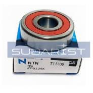 Подшипник 17x47x14 Ш NTN 6303LLU/5K, 6303LLU/2ASU1 (закрытый, насосы ГУР и др), к 6303LLU/2ASU1