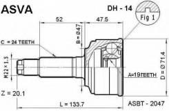 ШРУС подвески наружный Asva DH14