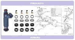 Комплект колечек топливной форсунки на 4 штуки Subaru EJ20 EJ25