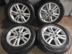 Комплект литых колес Toyota Mark X 215/60R-16 с летней резиной